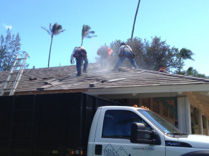 Waikiki Restroom Roof Repair 1
