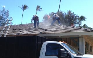 Waikiki Restroom Roof Repair 1