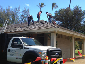 Waikiki Restroom Roof Repair 2
